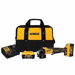 """DeWalt® 4.5"""" 20V Paddle Switch Small Angel Grinder Kit"""
