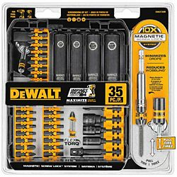 DeWalt® Impact Ready® 35 Piece Screwdriving Set