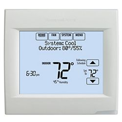 Honeywell Wi-Fi VisionPRO® 8000 Series 3 Heat/2 Cool Programmable Thermostat