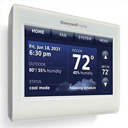 Prestige® IAQ Color Touchscreen Thermostat