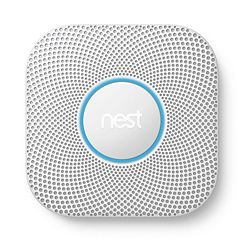 Google Nest Protect Smoke & Carbon Monoxide Detector - Wired