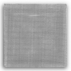 """24"""" x 24"""" Perforated Lay-In Return Diffuser - White"""