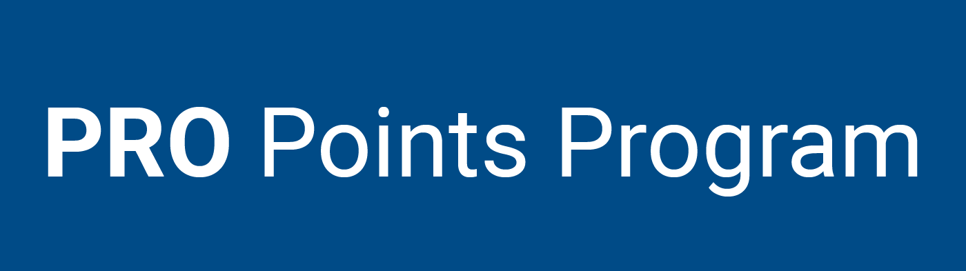 PRO Points Program