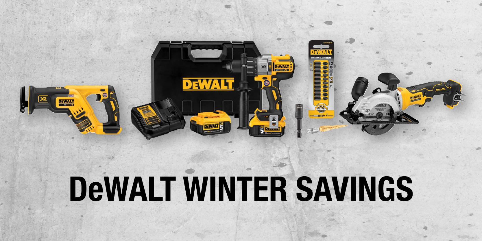 DeWALT Winter Savings